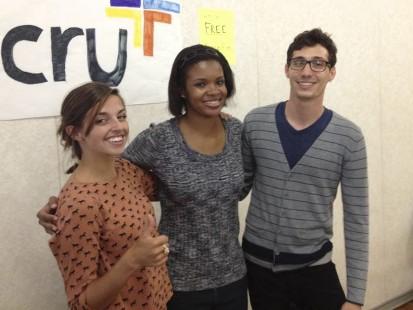 CRU Org - Kelly Krauter, Amber Washington, and Ian Kreml