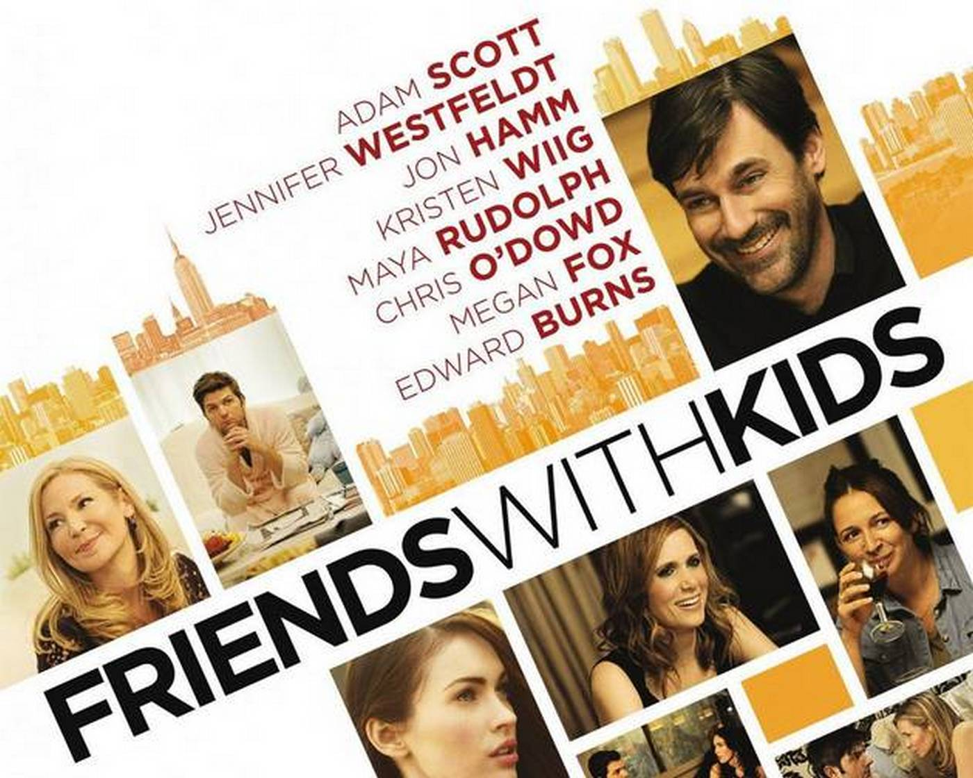 The best flicks on Netflix Instant: February Friends With Kids Poster