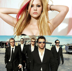 Backstreet Boys Avril