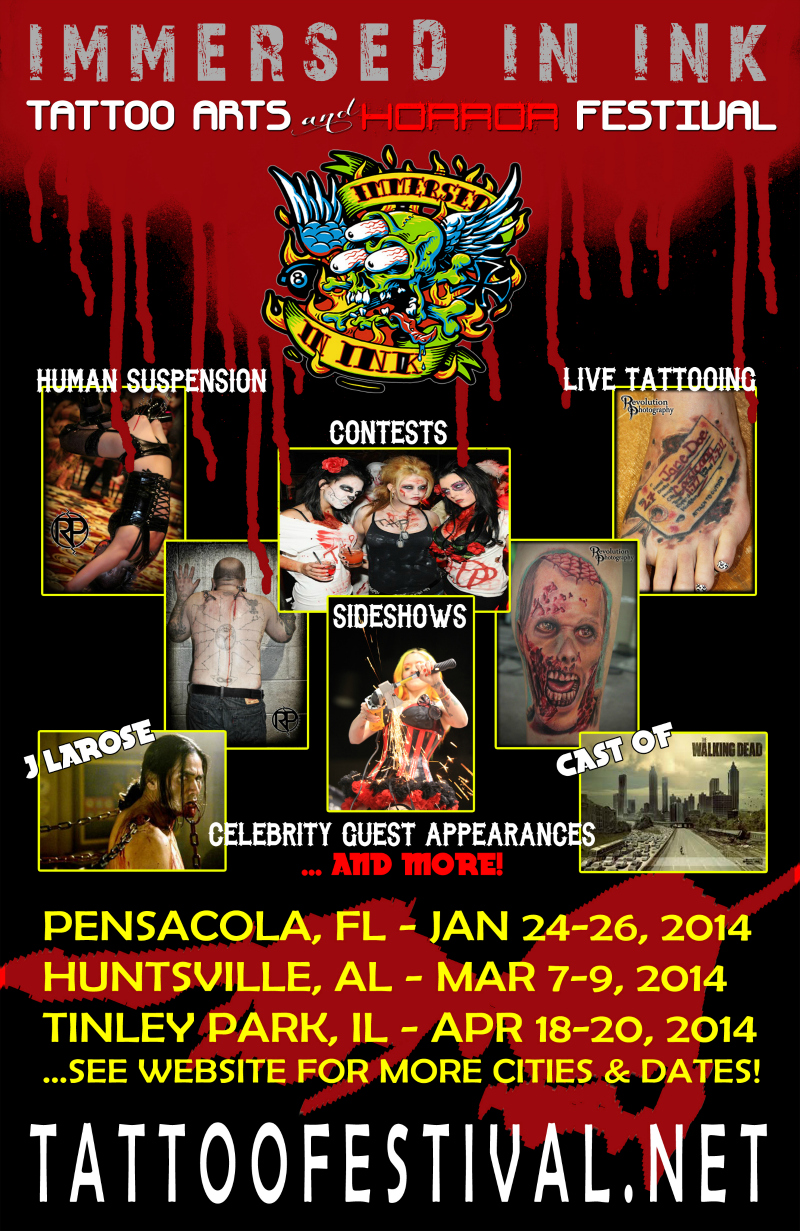 Ink Fest Poster - courtesy worldtattooevents.com