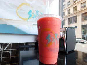 Osaka's fruit smoothies are the perfect treat for a college student on budget.