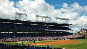Photo Credit: Chicago Cubs/Facebook Photo Caption: Wrigley Field has been packed this season as the Cubs made the push for the playoffs.