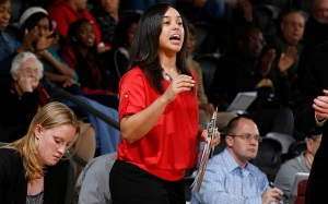 New coach Keisha Newell brings a competitive spirit to the women Lakers. Photo Credit: Roosevelt University Athletic Website
