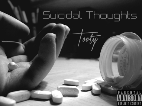 "Tooty's second release, ""Suicidal Thoughts,"" explores deeper themes than the mainstream."