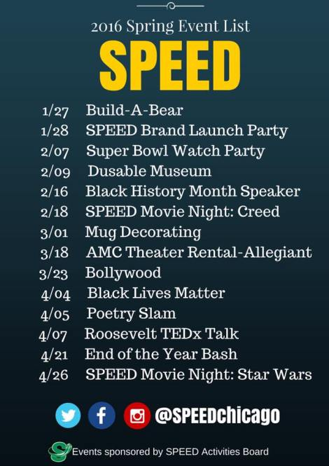 SPEED unveils ambitious series of programs