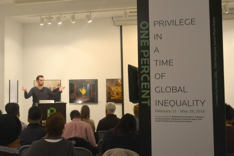Gage Gallery opening confronts issue of global inequality