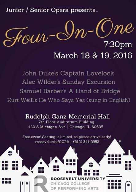CCPA students perform four operas in one night