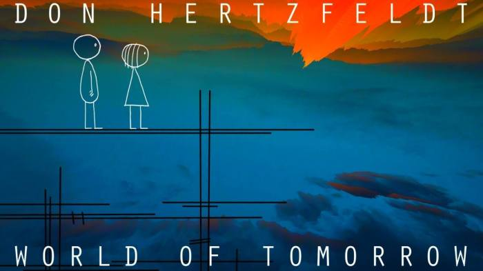 """World of Tomorrow"" draws big emotion with little lines"