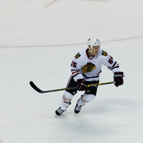 Andrew Shaw, Chicago Blackhawks, Florida, February 26th, 2015.