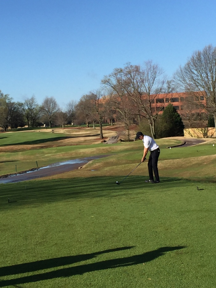 Golf heads into final stretch for upcoming conference tournament