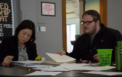 The Student Government Association partnered with the Center for Student Involvement for a letter writing campaign in support of greater funding of Illinois' Monetary Award Program (MAP) on Monday, January 30.